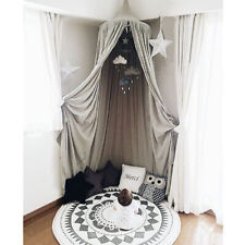 Mosquito Net Canopy Dome Princess Bed Cotton Tent Baby Kids Room&Cloud Decor