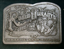 Rosie O'Gradys Good Time Emporium Belt Buckle! Great Shape