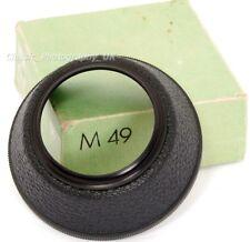 Bakelite Paraluce 49 mm per ZEISS Pancolar 1.8/50mm FLEKTOGON 2.4/35mm ORESTOR