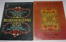 ROSEMALING - An Introduction & Instructions - VI Thode