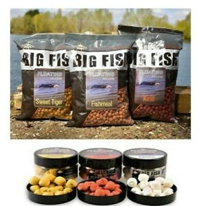 *NEW* Dynamite Baits Big Fish Floating Pellets and Durable Hookers All Flavours