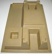 LEGO DARK TAN RAISED BASEPLATE 32 X 48 X 6 PLATE FORM PIECE