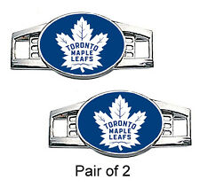 Toronto Maple Leafs Shoe Charms / Paracord Charms