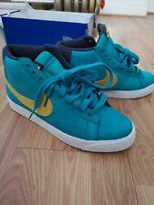 Nike SB Blazer Mid AQUA BLUE VOLT 13cee0e281