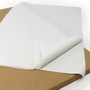 """480x WHITE ACID FREE TISSUE PAPER 18x28"""" WRAPPING PACKING TISSUE PAPER"""