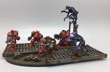 Warhammer 40,000 marines espaciales Ángeles de sangre GENESTEALERS Space Hulk Diorama