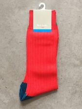 Calcetines Paul Smith UK/EUR ONE SIZE col. rojo