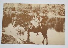 Postcard- Off to School c.1885- Australian Yesteryear Cards - History
