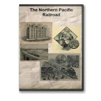 The Northern Pacific Railroad - 12 Historic Books CD History Guide Routes D427