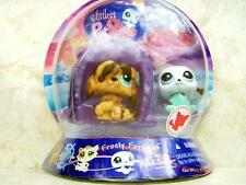 Littlest Pet Shop Frosty Fortress SEAL lot #1076 SHEEP DOG #1077 Retired NIB