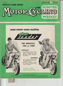 Vincent Black Lighting Racer,Honda C71 Ad,Brussels Bike Show,Combustion Chambers