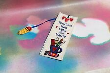 Teachers Help the World Bookmark, New