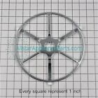 GE Microwave Oven Turntable Support Roller Assembly WB06X10315 photo