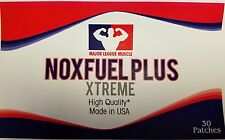 NOX FUEL STACK- Gain Muscle - Awesome Pumps - Increase Testosterone - 60 Patches