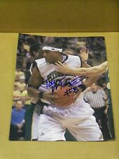 Torry Morris, Pitt Panthers Basketball, Signed 8 x 10, Game Action Photo