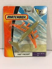 Matchbox Sky Busters Fast Freight Airplane MBX Metal (Unopened)
