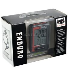 CATEYE Enduro CC-ED400 Bike Digital Computer Speedometer with Heavy Duty Wire