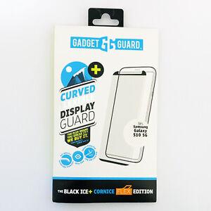 Gadget Guard Black Ice PLUS Cornice Glass Screen Protector Galaxy S10+ S10 5G