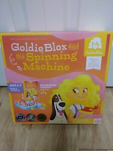 New GoldieBlox and the Dunk Tank Engineering Construction Building Toy