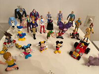 Disney Movie Characters Figures Lot Of 25