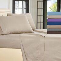 Hotel Luxury 4 Piece Sheet Set 800 TC Soft and Smooth Cotton Sheet Set