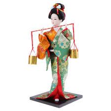 Geisha Statues Artisanat Handmade Japonais Geisha Poupée Décoration