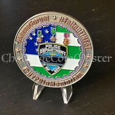 C80 NYPD Never Forget Police Large Challenge coin Serialized