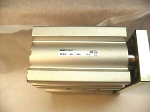 SMC MGPM25TF-30Z - Compact Guided Cylinder, 25x30mm Stroke, Double Acting,