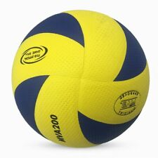 Mikasa 200W Volleyball Indoor Competition Game Official Ball Size 5 Blue/Yellow