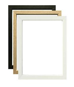 Picture Photo Frame A1 A2 A3 A4 36x24 Inch Poster Frame Black Oak White
