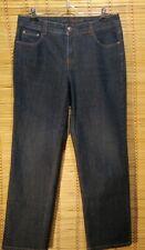 Charter Club Jeans Size 12 Petite Classic Fit Dark Wash Women's Blue Jeans