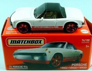 Matchbox 1971 Porsche 914 Mint in Box