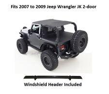 Jeep Extended Top with Windshield Header for 07-09 Jeep JK Wrangler (2-door)
