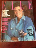 Rivista Magazine Elle France 19 Avril 1982 N.1893 Romy Schneider Michel Berger