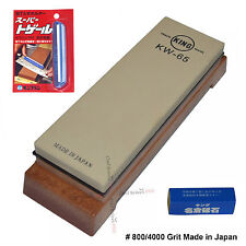800/4000 Grit Sharpening KING Stone Kitchen Water stone Clip Nagura waterstone