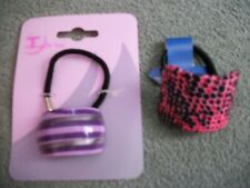 2 packs decorative Ponytailers,pattern,Ponytail hair accessories,hair fashion #2