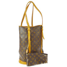 LOUIS VUITTON BUCKET GM SHOULDER TOTE BAG PURSE MONOGRAM ag M42236 A51834