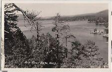 California Ca Real Photo RPPC Postcard c1940s BIG BEAR LAKE Pines Island 15