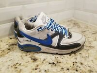 Men's Nike Air Max Command 397689-110 Shoes White Gray Blue Size 9