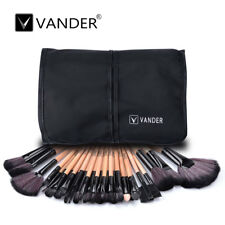 VANDER 32pcs Makeup Brushes Soft Cosmetic Eyebrow Shadow Brush Tool Set Kit +Bag