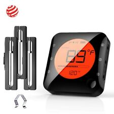 Wireless Bluetooth Meat Thermometer for Grilling,Alarm for Smoker