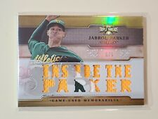 2014 Topps Triple Threads Jarrod Parker game used jersey card #ed 6/9
