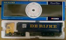 Corgi CC13204 DAF XF Space Cab Curtainside DE RIJKE Group Ltd Ed No 0002 of 2100