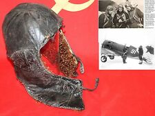 Casque pilote aviation  Armée Rouge URSS WWII.