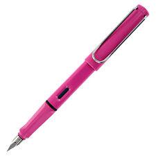 Lamy Safari Pink Fountain Pen - Medium Nib