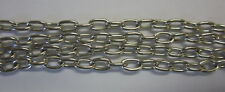 57cm Chain Necklace With Toggle In Silver Nickle Tone 7 x 4mm Links BNIP JF787