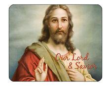 "9""x7"" MOUSE PAD - CHRISTIAN 4 Jesus God Religious Cross Computer Mousepad Office"