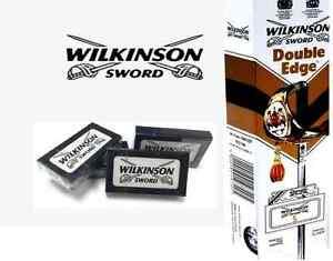 Wilkinson Sword Double Edge Shaving Razor Blades Barber Cut