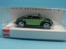 BUSCH 46714 VW HEBMÜLLER CABRIO GRÜN 1:87