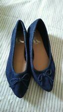 NWOT REPORT Women Blue Jean Flat Comfortable Shoe Sz 6